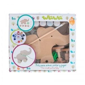 Kit elefante - Juguete de madera para niño - juguete para niño - regalos para niño - ideas para baby shower