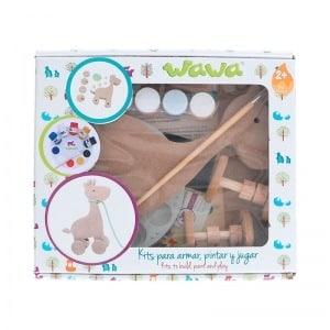 Kit jirafa - juguete de madera para niño - juguete para niño - regalos para niño - ideas para baby shower
